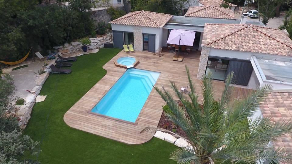 Piscine coque polyester mod le celestine 7 alliances - Renovation piscine coque polyester ...