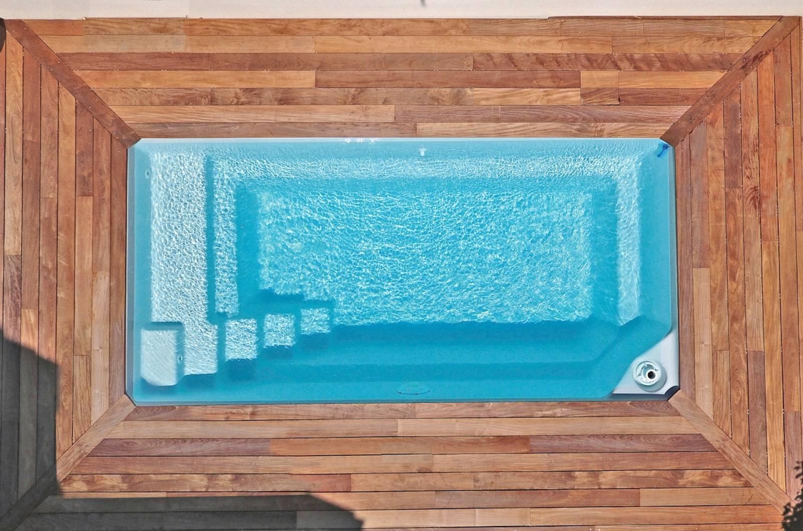 Robot Piscine Plan De Campagne piscine coque polyester modèle starlite - alliances piscines